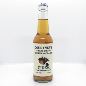 Courtney's of Whimple Orchard Cider (330ml Bottle)