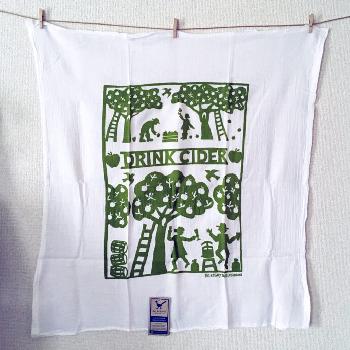 Drink Cider Towel - Green