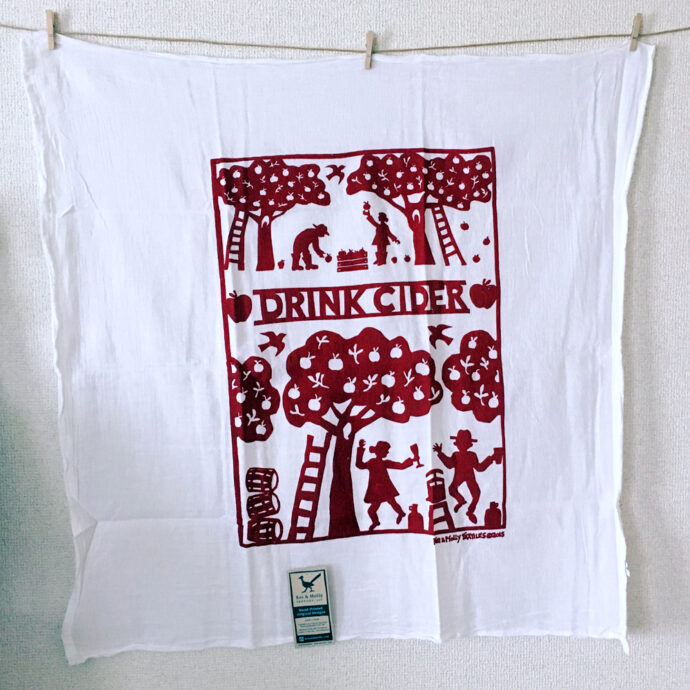 Drink Cider Towel - Red