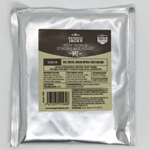 Mangrove Jack's M42 New World Strong Ale Yeast (100g)
