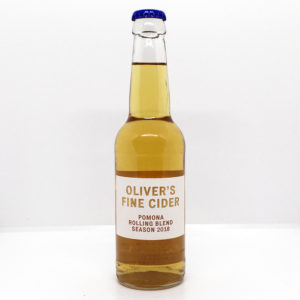Oliver's Fine Cider - Rolling Pomona Blend 2018 (330ml Bottle)