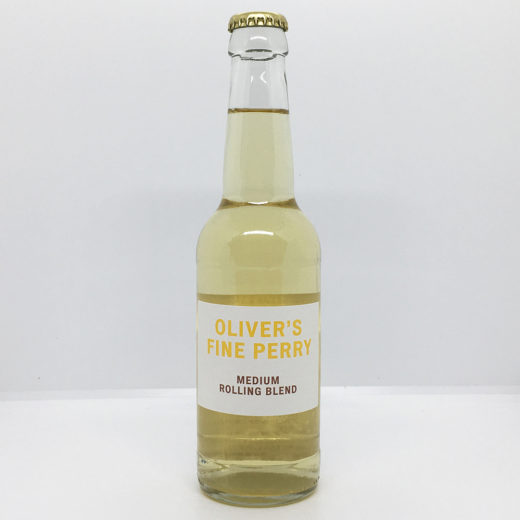 Oliver's Fine Perry - Medirum Rolling Blend (330ml Bottle)